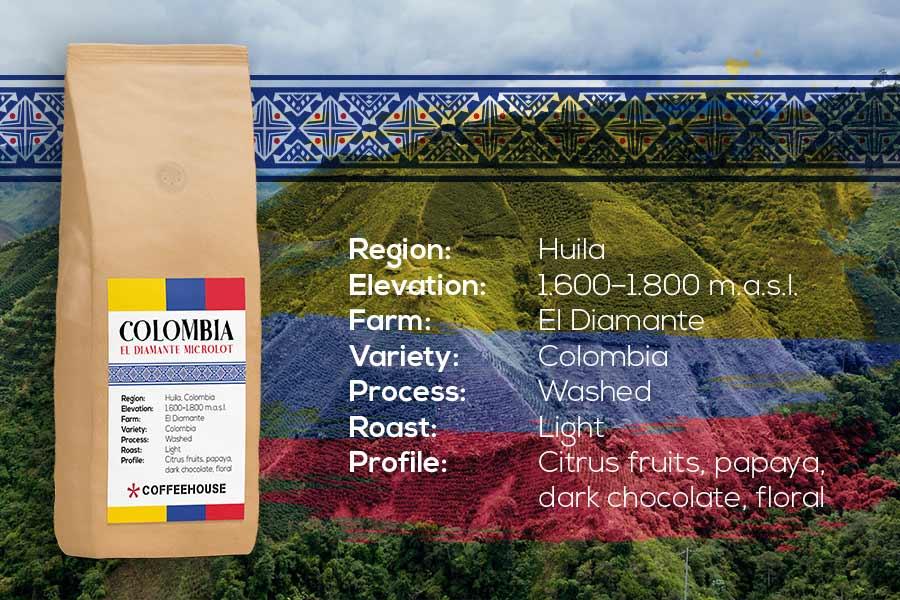 COLOMBIA El Diamante Microlot